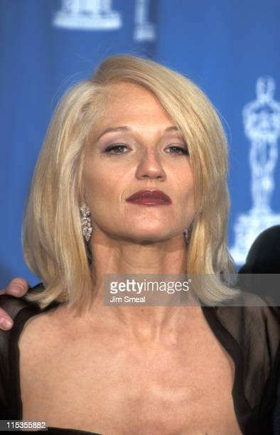 Ellen Barkin during The 67th Annual Academy Awards - Press Room at Shrine Auditorium in Los Angeles, California, United States.