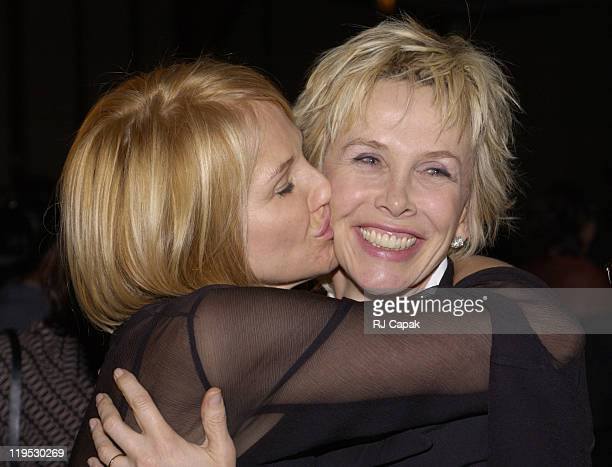 Ellen Barkin & Trudie Styler during NRDC's 4th Annual Forces For Nature Gala Event Honoring Trudie Styler, Dan Tishman And Gary Trudeau With...