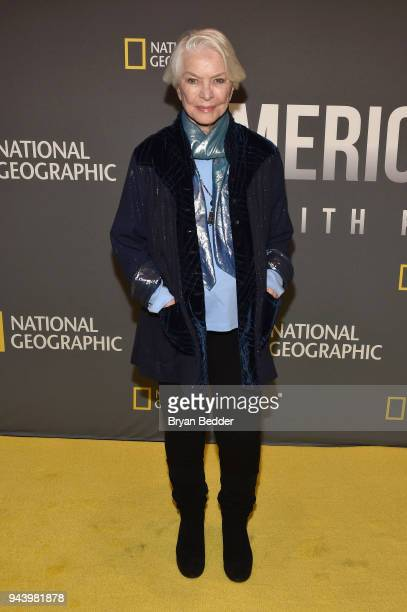 Ellen Burstyn Actress attends National Geographic's premiere screening of AMERICA INSIDE OUT WITH KATIE COURIC on April 9 2018 in New York City...