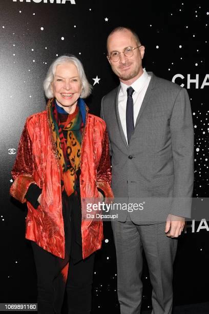 Ellen Burstyn and Darren Aronofsky attend the 2018 Museum of Modern Art Film Benefit A Tribute To Martin Scorsese at Museum of Modern Art on November...