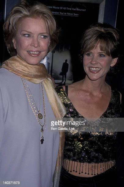 Ellen Burstyn and Linda Blair attend the premiere of The Exorcist on September 21 2000 at Mann Bruin Theater in Westwood California