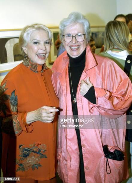 Ellen Burstyn and Polly Holiday during Ellen Burstyn Celebrates a Lifetime of Photographs New York at Uma Gallery in New York City New York United...