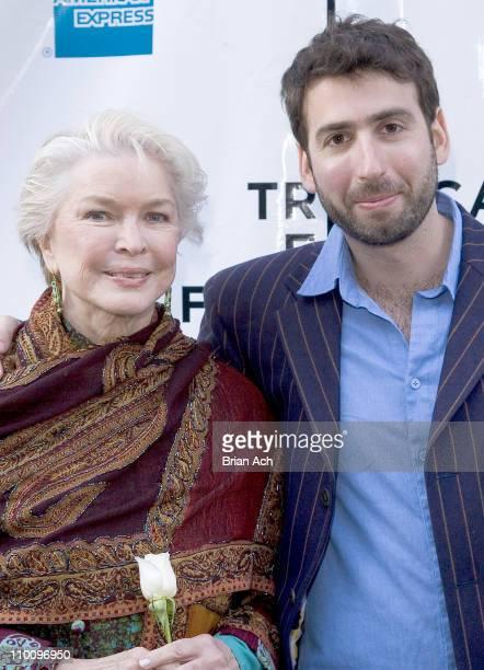 Ellen Burstyn and Seth Grossman during 5th Annual Tribeca Film Festival 'The Elephant King' Premiere at AMC Loews 11th St Cinemas in New York New...