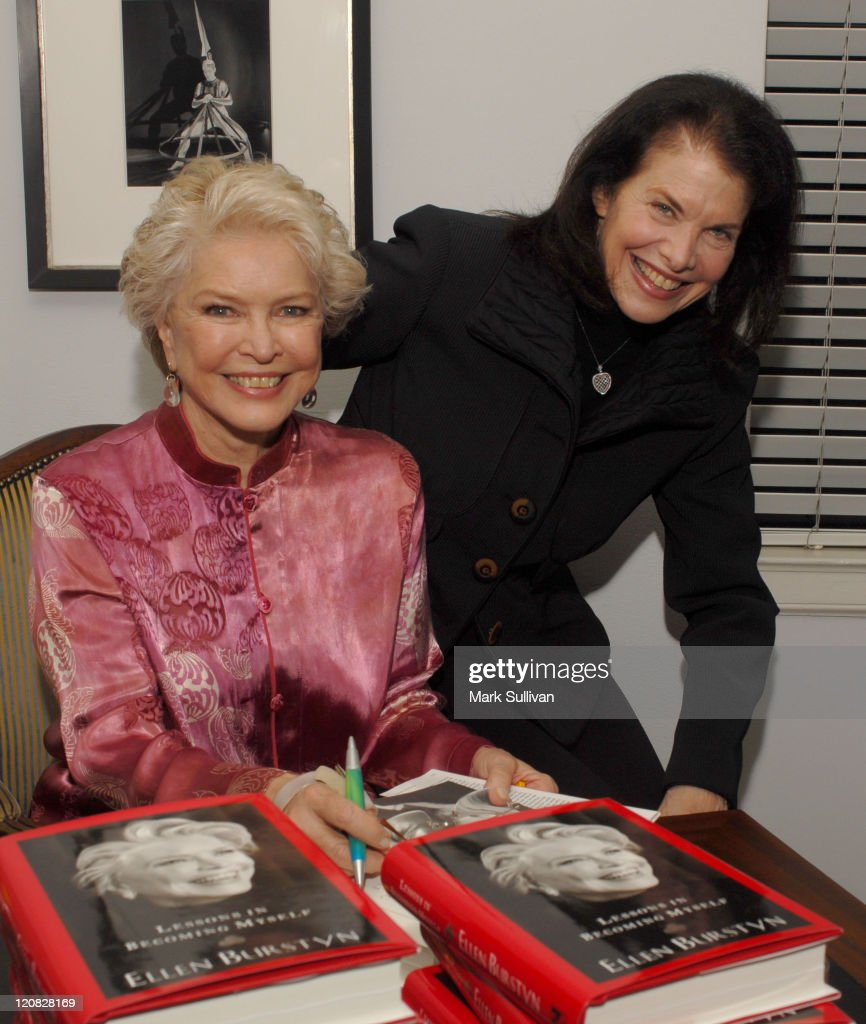 Ellen Burstyn and Sherry Lansing during Ellen Burstyn Celebrates the Release of Her Book 'Lessons in Becoming Myself' at Chateau Marmont Hotel in West Hollywood, California, United States.