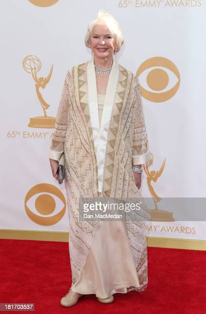 Ellen Burstyn arrives at the 65th Annual Primetime Emmy Awards at Nokia Theatre LA Live on September 22 2013 in Los Angeles California