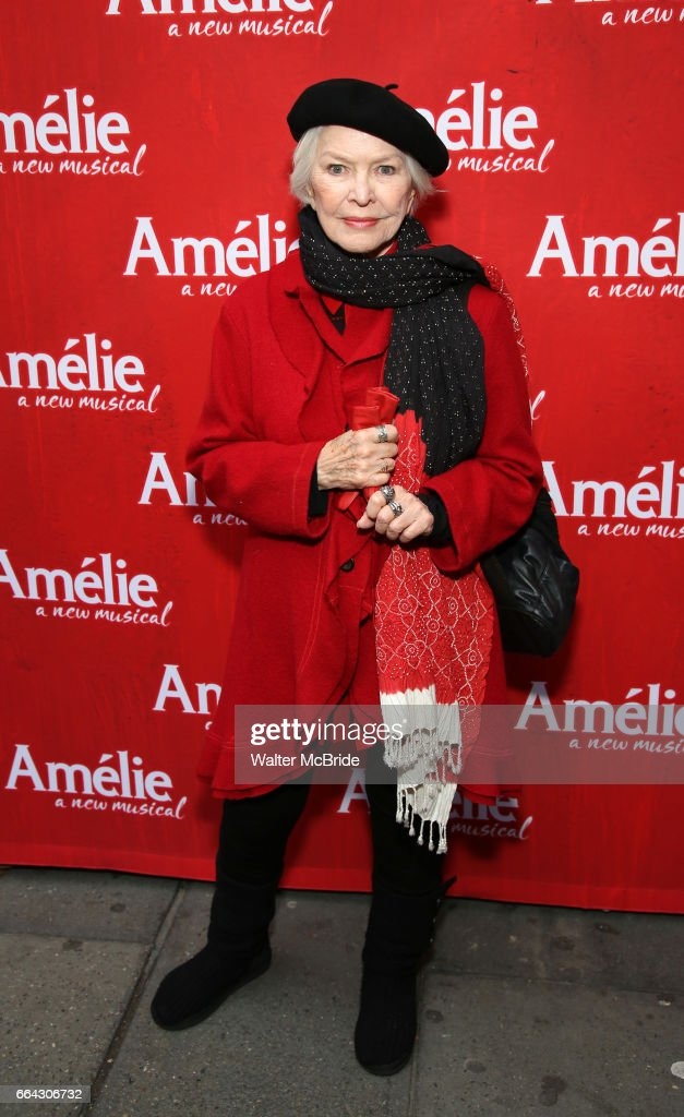 """Amelie"" Broadway Opening Night - Arrivals & Curtain Call"