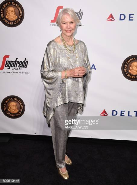 Ellen Burstyn attends the Friars Club Honors Martin Scorsese With Entertainment Icon Award at Cipriani Wall Street on September 21, 2016 in New York...