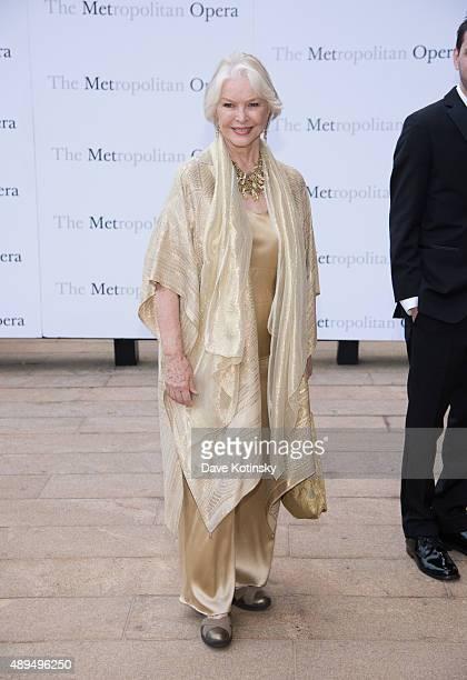 Ellen Burstyn attends the Metropolitan Opera 20152016 season opening night of 'Otello' at The Metropolitan Opera House on September 21 2015 in New...