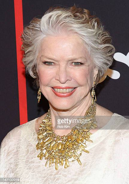 Ellen Burstyn attends the 'Political Animals' premiere at The Morgan Library Museum on June 25 2012 in New York City