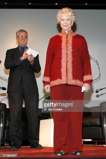 Ellen Burstyn during 14th Annual Hamptons International Film Festival - A Conversation with Ellen Burstyn at United Artist Theatre in East Hampton,...