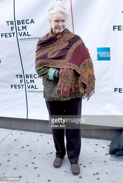 Ellen Burstyn during 5th Annual Tribeca Film Festival 'The Elephant King' Premiere at AMC Loews 11th St Cinemas in New York New York United States