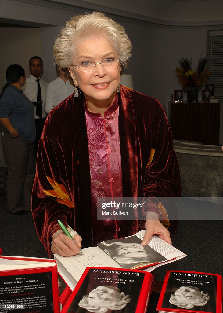 Ellen Burstyn during Ellen Burstyn Celebrates the Release of Her Book 'Lessons in Becoming Myself' at Chateau Marmont Hotel in West Hollywood, California, United States.