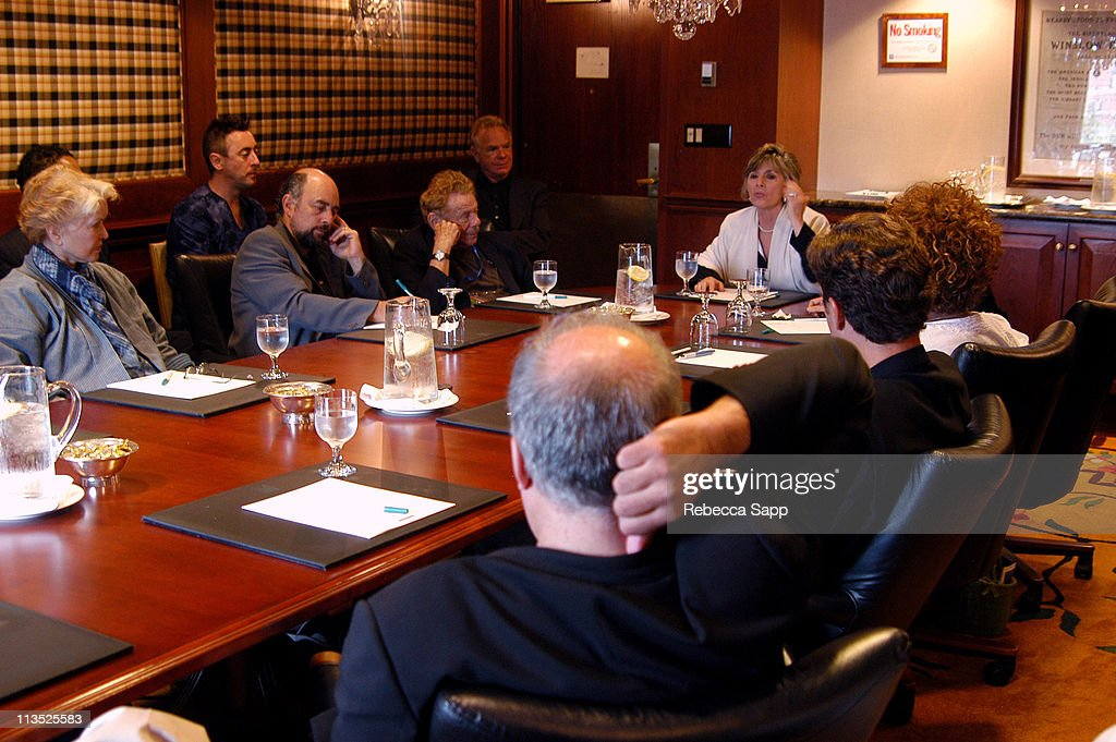 The Creative Coalition's Private Briefing with Senator Barbara Boxer and Charlie Cook
