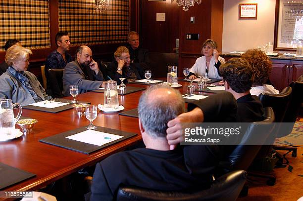 Ellen Burstyn Richard Schiff Jerry Stiller and Senator Barbara Boxer