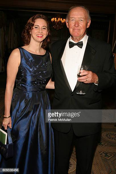Ellen Caravella and Richard E Meyer attend The 24th Annual Calvary Hospital Awards Dinner Dance at The Pierre Hotel on June 6 2007 in New York City