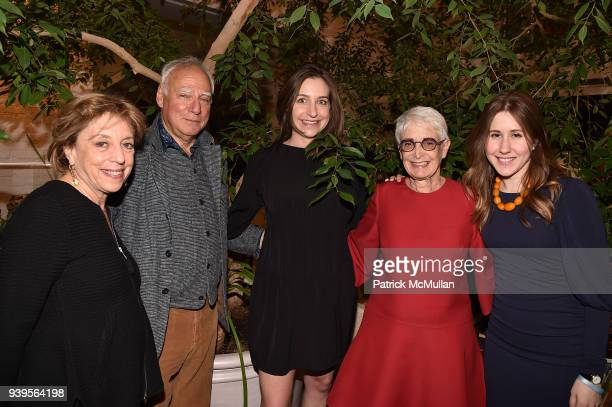 Ellen Chesler Michael Steinberg Cordelia Lembo Barbara Toll and Kim Sorensen attend the LongHouse Reserve New York Benefit Honoring Axel Vervoort at...