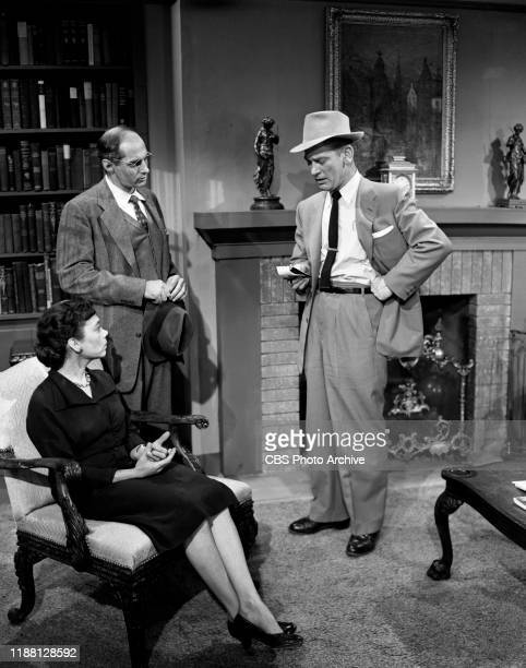 Ellen Corby Robert Ellenstein and Kenneth Tobey star in The Whistler a CBS syndicated television film suspense series Episode The Pattern originally...