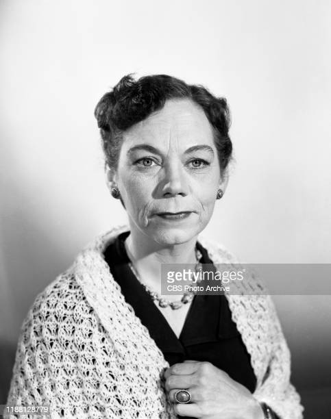 Ellen Corby stars as Mary Ellen Fenway in The Whistler a CBS syndicated television film suspense series Episode The Pattern originally broadcast...
