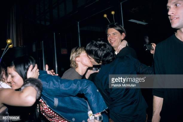 Ellen DeGeneres Alexandra Hedison Sean MacPherson New Years Eve The Park NYC January 1 2002