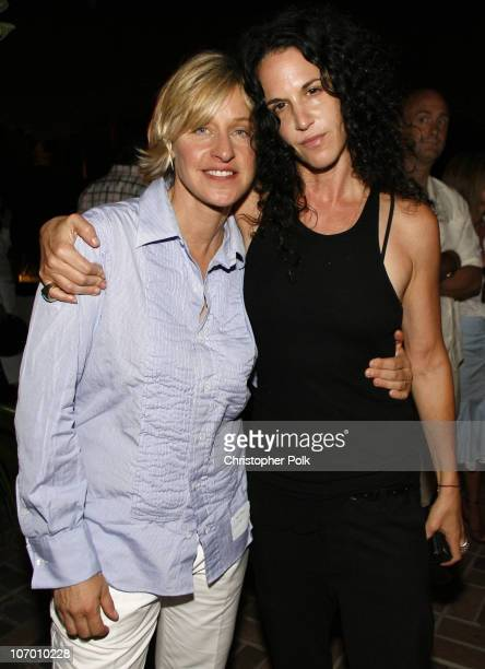 Ellen DeGeneres and Amanda Demme during Ellen DeGeneres Portia de Rossi and Gina Philips Host a Charity Event to Help Launch a SelfSustaining FXB...