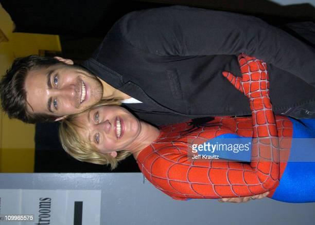 Ellen DeGeneres and Jake Gyllenhaal **Exclusive**