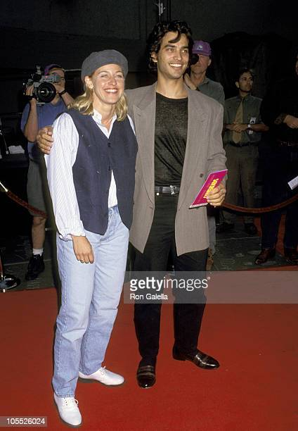 Ellen DeGeneres and Johnathon Schaech during Coneheads Premiere at Mann's Chinese Theater in Hollywood California United States