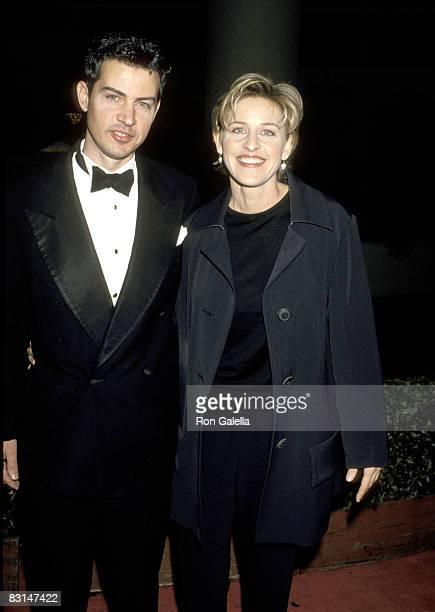 Ellen DeGeneres and Vance DeGeneres