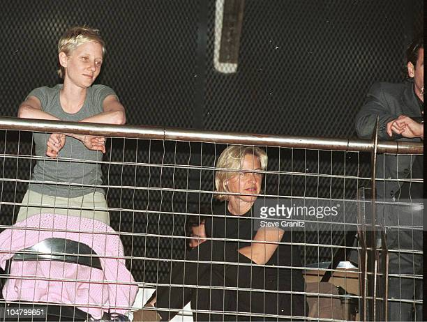 Ellen DeGeneres Anne Heche during MCA Records Party for the Band Live Dennis Rodman Throws Party for Carmen Electra in Los Angeles California United...