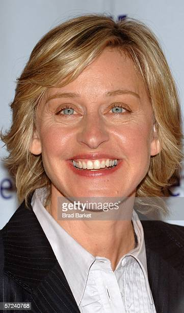Ellen DeGeneres arrives to the Women In Communication Inc 2006 Matrix Awards at the Waldorf Astoria Hotel on April 3 2006 in New York City