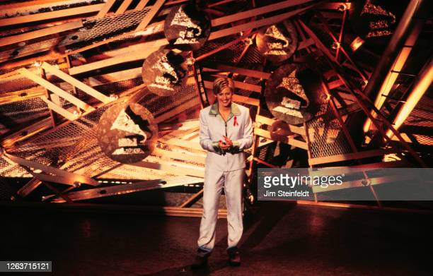 Ellen DeGeneres at the 38th Annual Grammy Awards at the Shrine Auditorium in Los Angeles, California on February 28,1996.