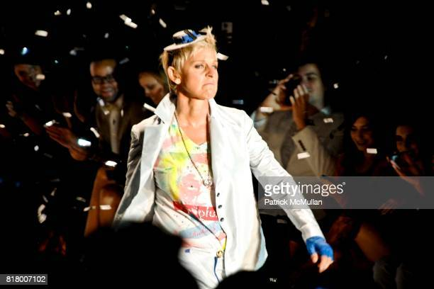 Ellen DeGeneres attends Richie Rich 2011 Fashion Show at The Studio at Lincoln Center on September 9 2010 in New York City
