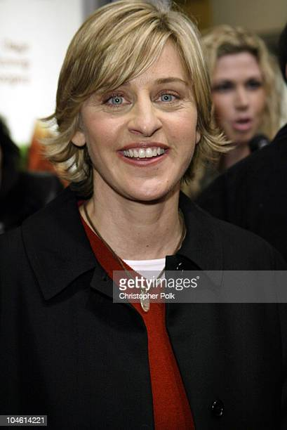 Ellen DeGeneres during Adaptation Premiere at Mann Village in Hollywood, CA, United States.