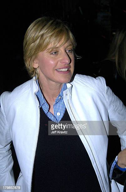Ellen Degeneres during Nickelodeon's 17th Annual Kids' Choice Awards Backstage at Pauley Pavillion in Westwood California United States