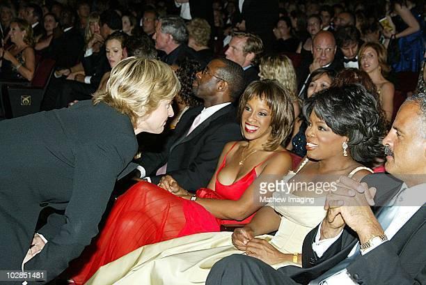 Ellen Degeneres Gayle King Oprah Winfrey and Steadman Graham *Exclusive*