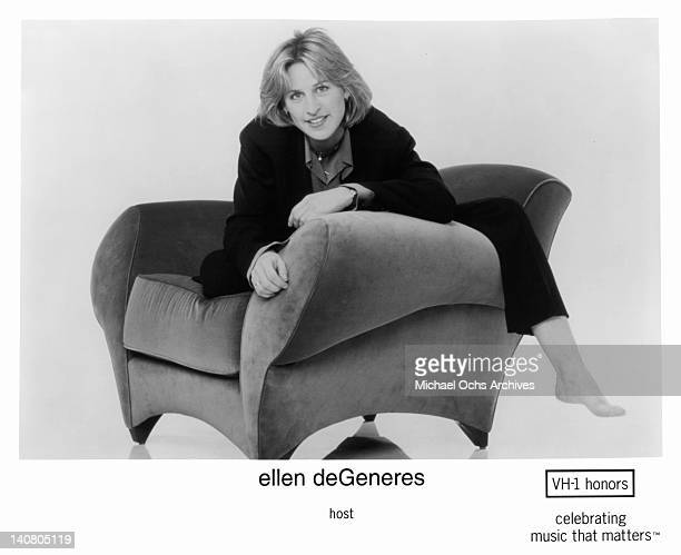 Ellen DeGeneres host of the VH1 honors celebrating music that matters circa 1990