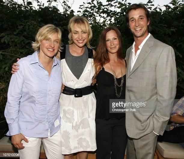 Ellen DeGeneres Portia de Rossi Tracy Warbin and Noah Wyle **EXCLUSIVE**