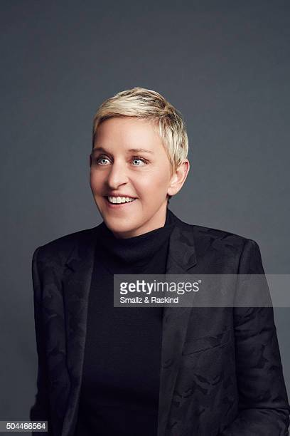 Ellen DeGeneres poses for a portrait at the 2016 People's Choice Awards at the Microsoft Theater on January 6 2016 in Los Angeles California