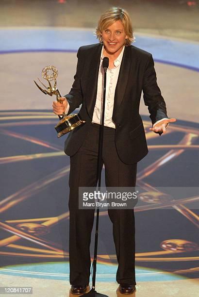Ellen DeGeneres, winner Outstanding Talk Show Host
