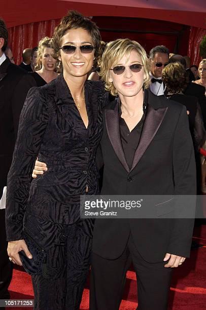 Ellen DeGeneres with partner Alexandra Hedison