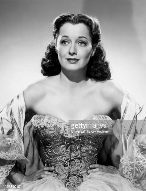 Ellen Drew Publicity Portrait for the Film The Swordsman Columbia Pictures 1947