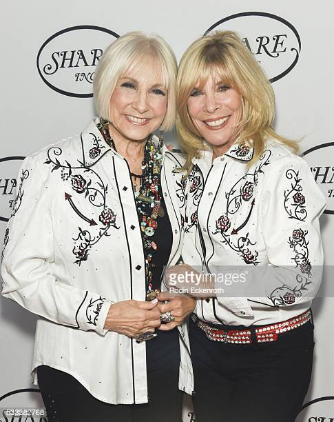 Ellen Feder and Anita Mann Kohl attend the 63rd Annual SHARE Inc Boomtown 2016 Gala An Evening At Studio 53 Arrivals at The Beverly Hilton Hotel on...