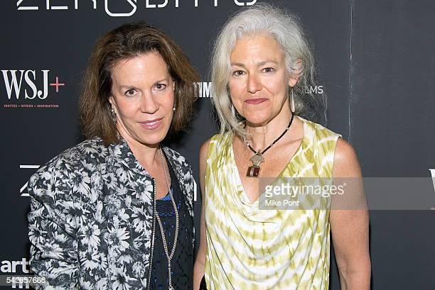Ellen Goosenberg Kent and Kate Davis attend the Zero Days New York Premiere at New York Institute of Technology on June 23 2016 in New York City