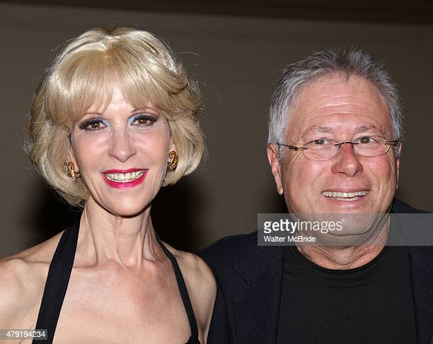 Ellen Greene and Alan Menken attend the Opening Night After Party for the New York City Center Encores OffCenter production of 'Little Shop of...