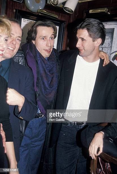 Ellen Greene guest Michael Wincott and William Baldwin at the New York City premiere