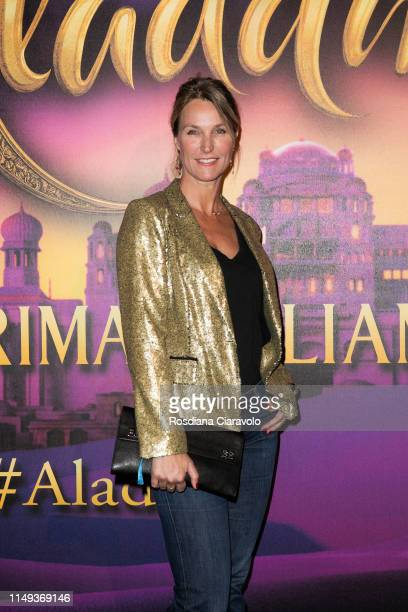 Ellen Hidding attends the Aladdin photocall and red carpet at The Space Cinema Odeon on May 15 2019 in Milan Italy