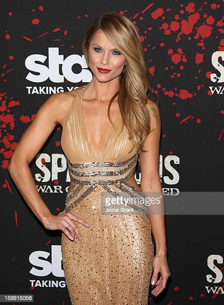 Ellen Hollman arrives at the Spartacus War Of The Damned Los Angeles Premiere at Regal Cinemas LA LIVE Stadium 14 on January 22 2013 in Los Angeles...