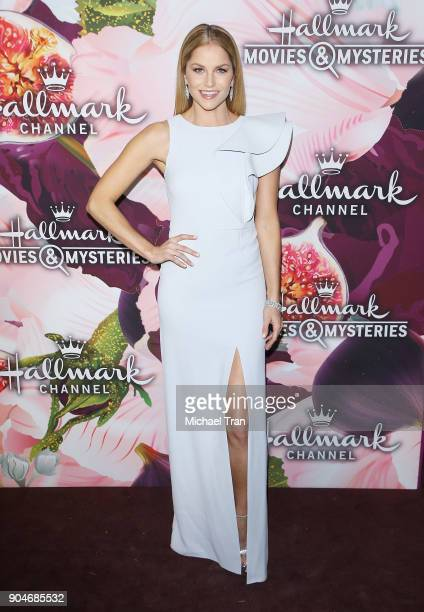 Ellen Hollman arrives to the Hallmark Channel and Hallmark Movies and Mysteries Winter 2018 TCA Press Tour held at Tournament House on January 13,...
