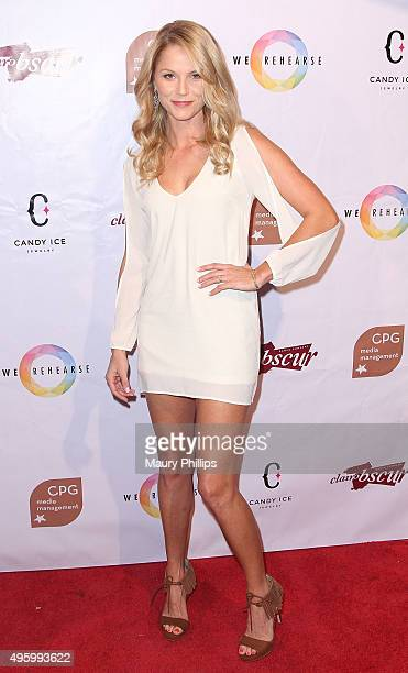 Ellen Hollman attends Danse Avec Clairobscur at Aventine Hollywood on November 5 2015 in Hollywood California