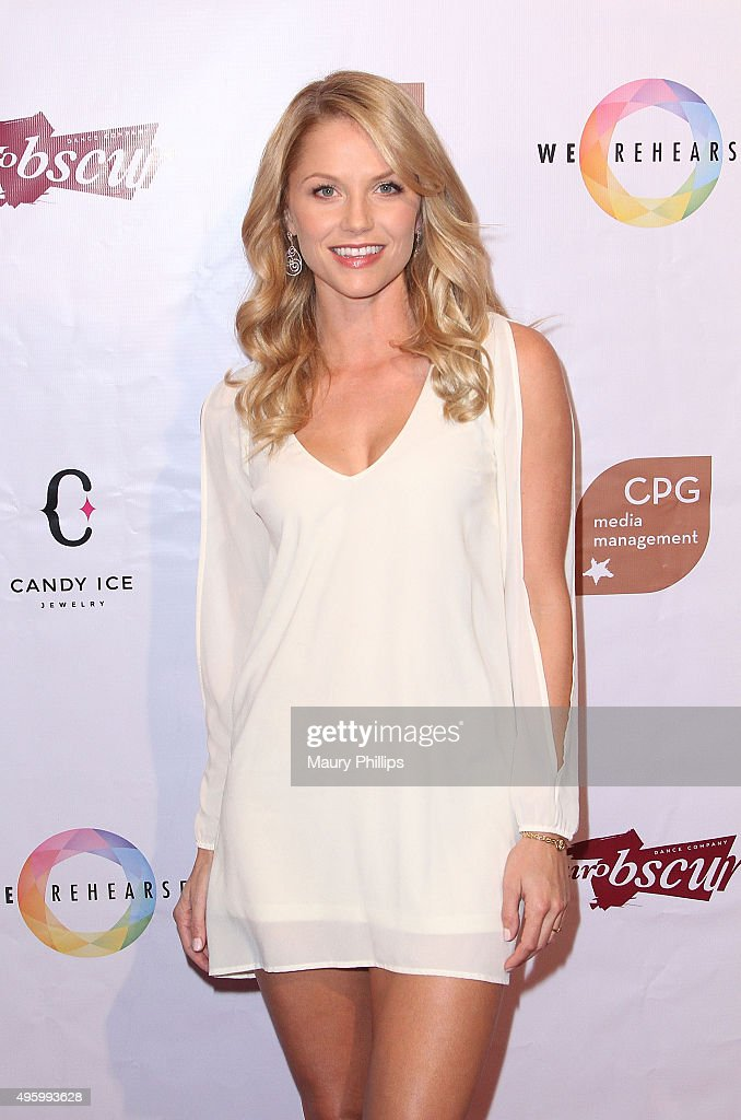 Ellen Hollman attends Danse Avec Clairobscur at Aventine Hollywood on November 5, 2015 in Hollywood, California.