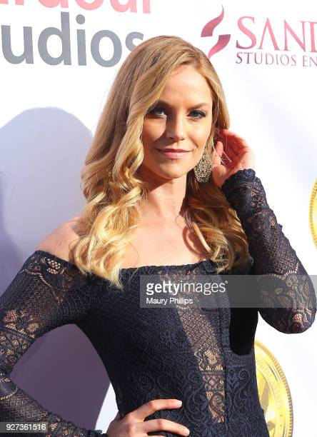 Ellen Hollman attends Hollywood Stars Gala Academy Awards Viewing Party at Waldorf Astoria Beverly Hills on March 4 2018 in Beverly Hills California